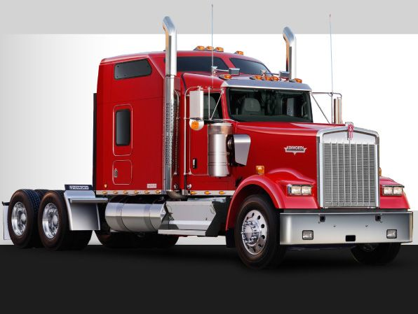 red kenworth